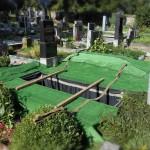 Připravené pohřební místo